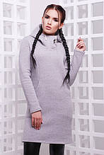 Спортивное женское платье Sabina светло серый