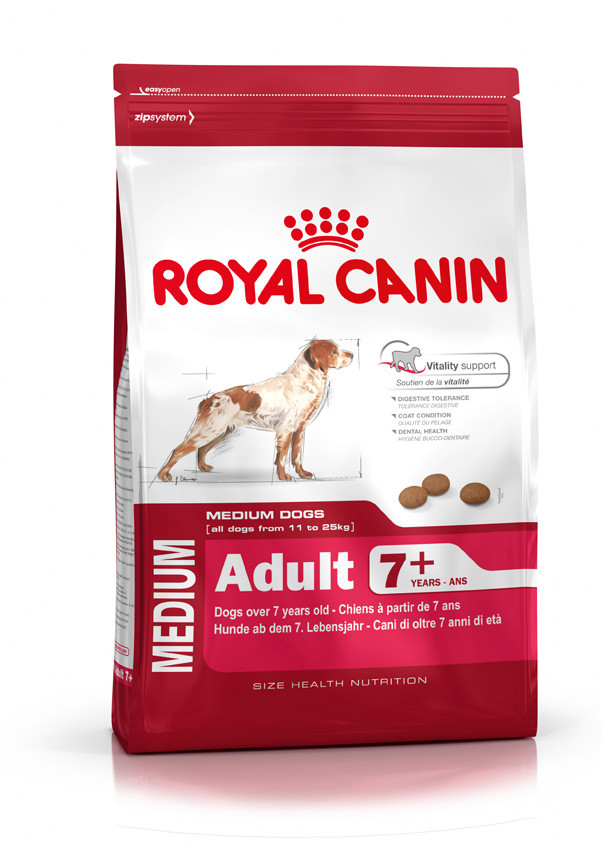 Сухой корм Royal Canin Medium Adult 7+ 4кг
