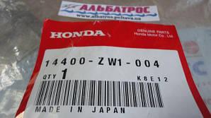 Honda BF60 BF65 BF75 - 14400-ZW1-004 Belt, timing, Honda BF75BF90 Ремень приводной (зуб
