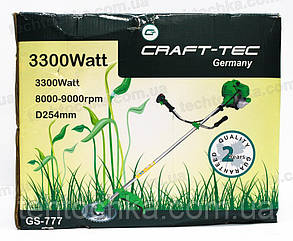 Бензокоса Craft-tec 3300 GS - 777 , фото 2