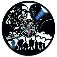 Настенные часы из виниловых пластинок LikeMark World of Warcraft