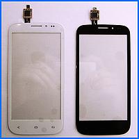 Тачскрин (сенсор) для Fly iQ4404 Spark, белый