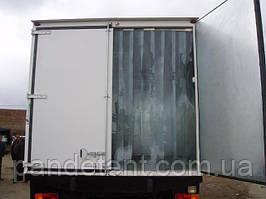Ленточные теплоизолирующие ПВХ завесы на изотермический фургон ( рефрижератор)