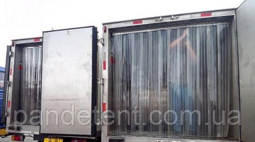 Шторки на изотермический фургон ( рефрижератор), фото 2