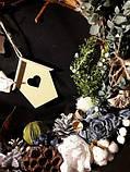 Новогодний венок из лозы  декоративный, фото 2