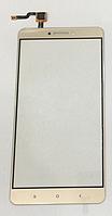Оригинальный тачскрин / сенсор (сенсорное стекло) для Xiaomi Mi Max | Mi Max Pro | Mi Max Prime (золотой цвет), фото 1