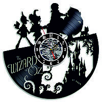 Настенные часы из виниловых пластинок LikeMark The Wizard of Oz