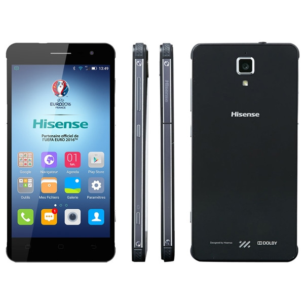"Смартфон Hisense C20 King Kong 2 IP67, Black, 3/32Gb, 13/5Мп, 8 ядер, 2sim, экран 5"" IPS, 3200mAh, 4G"