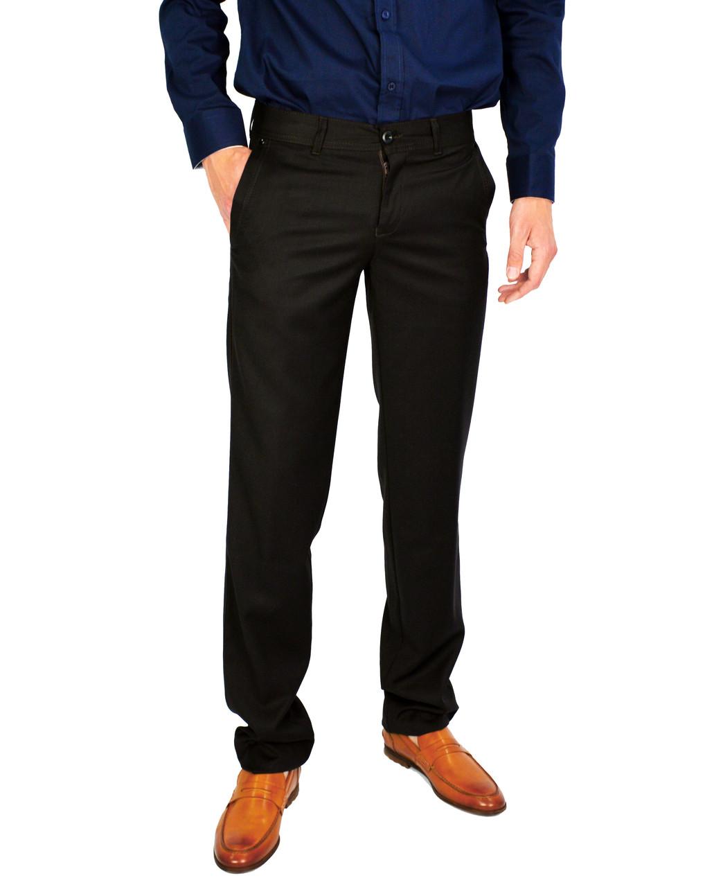 Коричневые мужские брюки классические VIK VLADIS