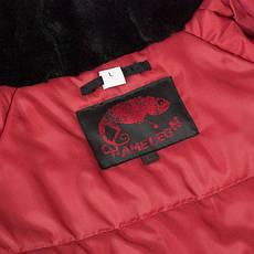 Куртка зимняя slim fit аляска n-3b Black, фото 2