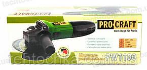 БОЛГАРКА PROCRAFT PW - 1100, фото 2