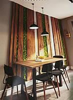 Декоративные планки, рейки дуба и ясеня. Отделка помещений деревом.