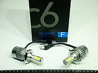 Лампа диодная H4 12-24в 36w Hi/Lo 6000K (2шт) (C6)
