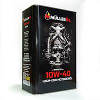 Моторное масло Mulleroil diesel 10w40 4л CI-4/CF E4/E7, B4 VDS-3,RLD-2,VW 500-505, Cat TO-2