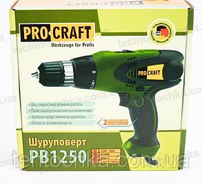 Электрошуруповерт Procraft PB 1250, фото 2