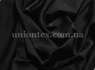 Ткань шелк-армани черный