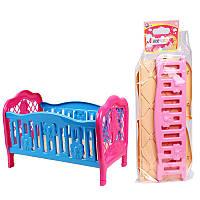 "Кроватка для куклы 4517 ""ТехноК"""