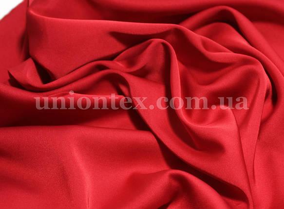 Ткань шелк-армани красный, фото 2