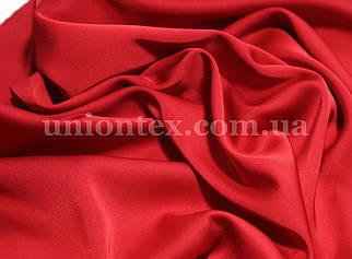 Ткань шелк-армани красный