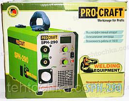 Сварочный полуавтомат PROCRAFT SPH - 290, фото 3
