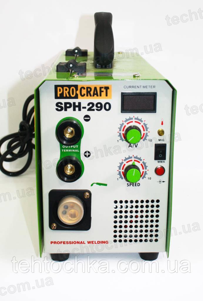 Сварочный полуавтомат PROCRAFT SPH - 290