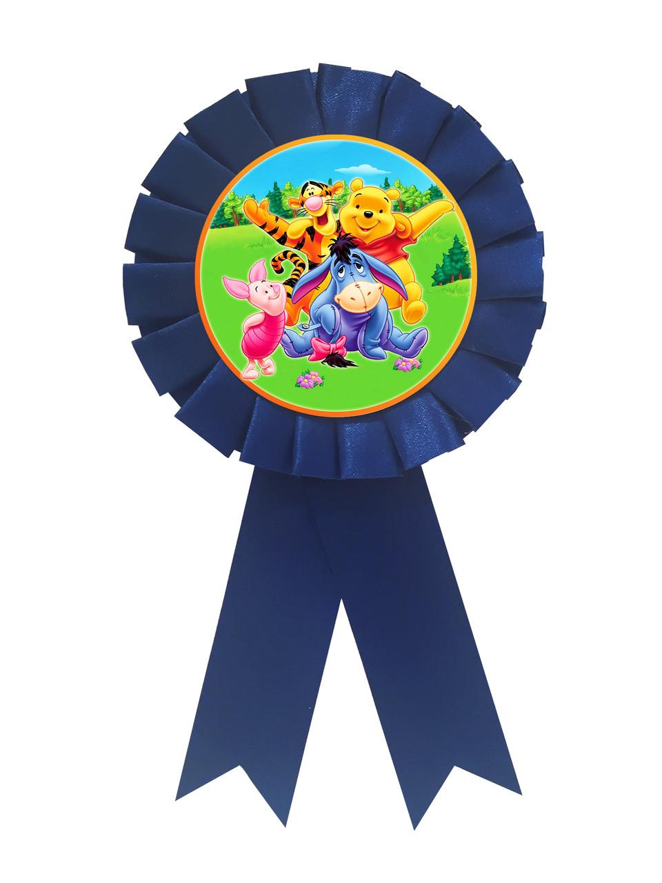 """Медаль сувенірна """" Вінні та його друзі """""""