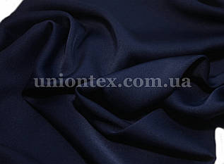 Ткань шелк-армани темно-синий