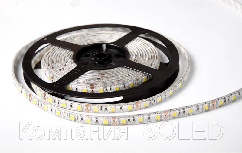 Светодиодная (LED) лента 5050 14,4w, 15Lm/w 3000K IP20 60led
