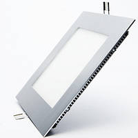 OEM Светодиодная панель (врезная) квадрат 6Вт, 120мм