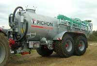 Емкость для внесения жидких органических удобрений Pichon