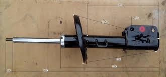 Амортизатор передний левый Рено Латитьюд