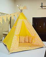 Комплект вигвам с окошком. Детский игровой вигвам, палатка, шатер, детский домик, игровой комплекс