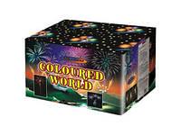 Салют Coloured World GWM6121 фейерверк на 120 выстрелов