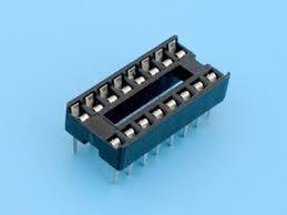 Панелька под микросхемы DIP16