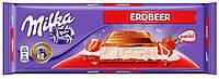 Шоколад MILKA ERDBEER 300 гр