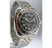 Командирские мужские механические наручные часы Амфибия  Восток  с автоподзаводом 04