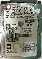 HDD 500GB 5400 SATA2 2.5 Hitachi HTS545050A7E380 неисправный G80H2JDS, фото 1