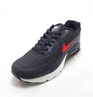 Кроссовки мужские  Nike Air Max 90 сине-красные (найк аир макс)(р.41,42,43,44,45,46)
