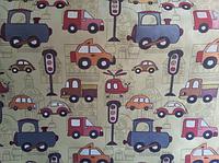 Ткани обивочные мебельные жаккардовые Авто / CARS