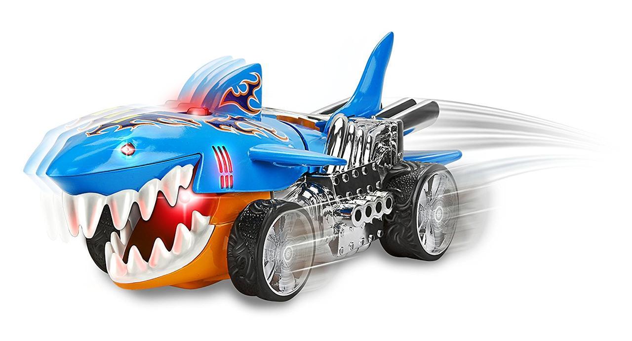 Хот вилс машинка Акула со светом и звуком 20 см Hot Wheels ...