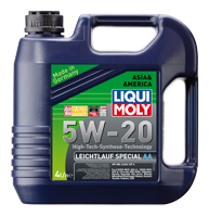 Масло моторное LIQUI MOLY SAE 5W-20 Leichtlauf Spezial AA 4L