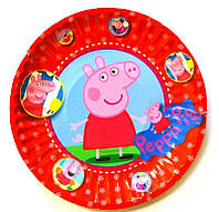 "Набор тарелок ""Свинка Пеппа-2"" 10шт/уп"