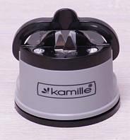 Точилка для ножей Kamille 6х7см круглая
