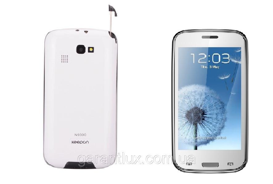 Новинка! Мобильный телефон DONOD Keepon N9300 сенсорный экран +чехол (Duos,  2 sim,сим карты