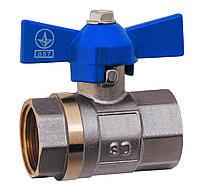 SD Краны шаровые PN25 1/2 БГГ вода SD602W15