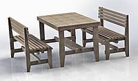 """Комплект деревянной мебели """"Одесса 2"""" 1200х800"""