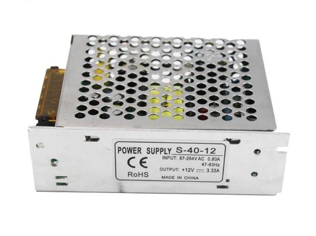 Блок питания 220V - 12V, 3.33A, 40W