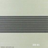 Рулонные шторы День-Ночь BH03 Фисташковый цвет