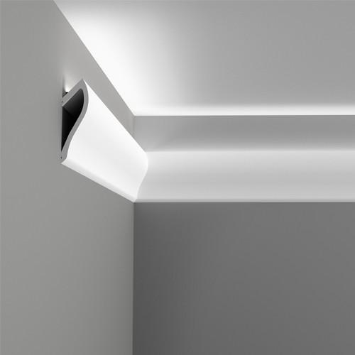 Молдинг, карниз для скрытого освещения, карниз Orac Decor C371, 200 x 18.5 x 5.8 cm