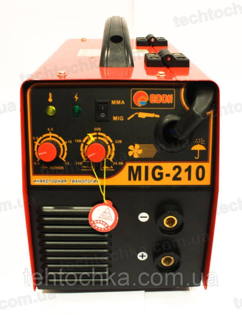 Сварочный инвертор полуавтомат EDON MIG - 290
